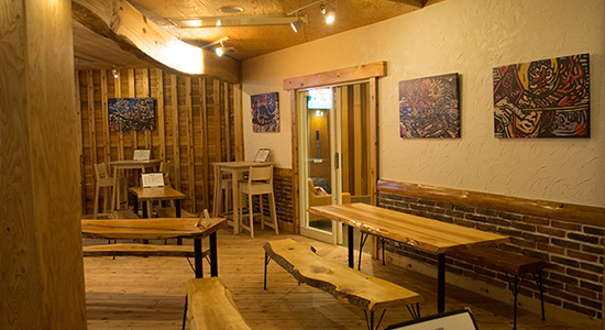 hakuba tap room artwork