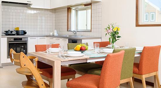 hakuba echoland chalets - luxury - kitchen dining