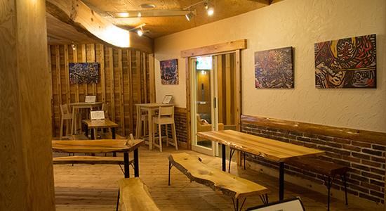 hakuba tap room artwork