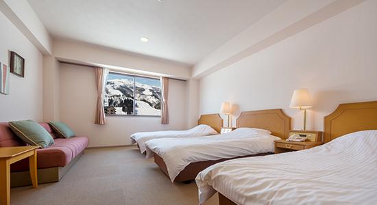 Hakuba Panorama Hotel Western Room 03