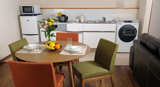 hakuba echoland chalets - standard - kitchen