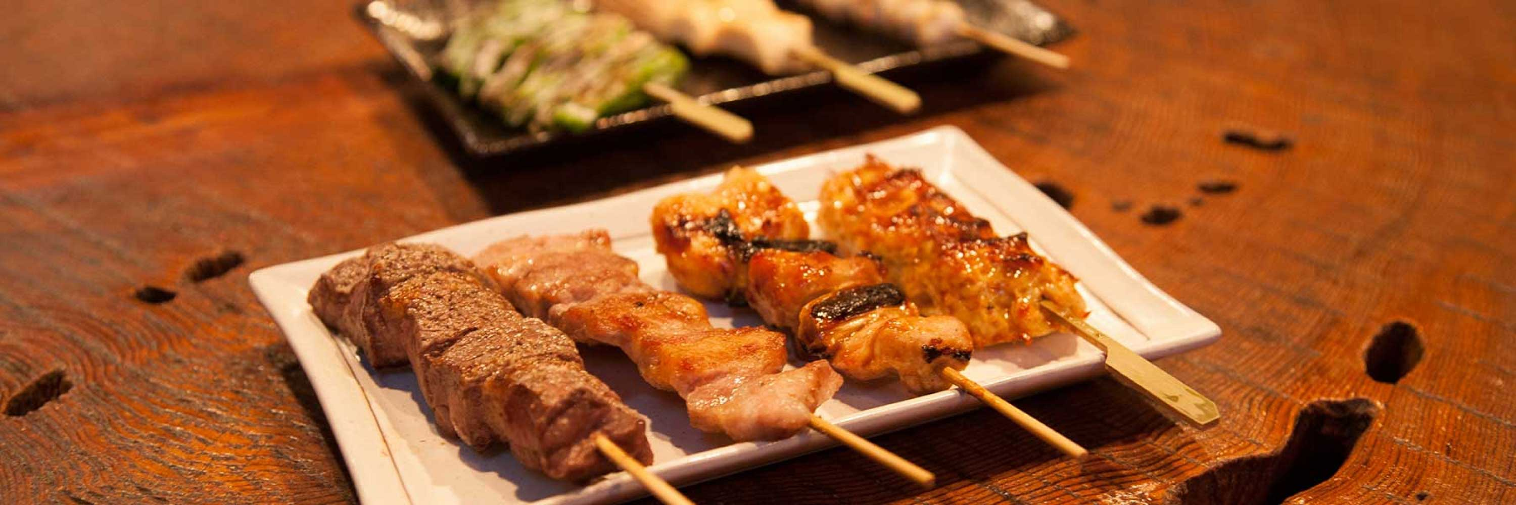 the best selection of kebabs at the hakuba taproom