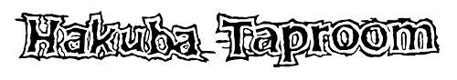 hakuba taproom logo