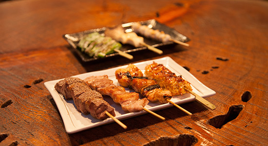hakuba taproom yakitori goodness