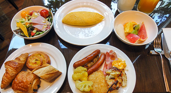 hakuba panorama hotel breakfast